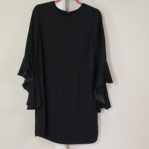 Who What Wear Tunic Dress w/Tulip Sleeves